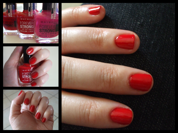 Yay for Maybelline Forever Strong Pro Nail Polish (Review with pictures & swatches)