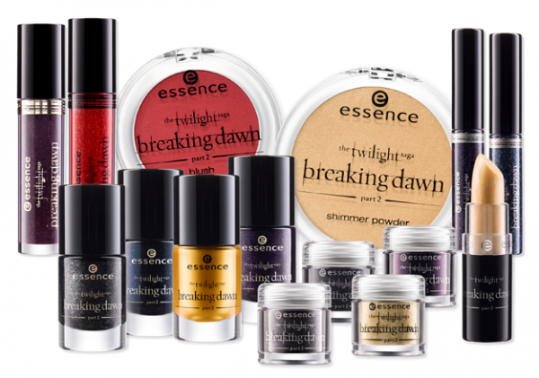 Essence: Twilight Breaking Dawn Part 2 Makeup Collection Review with Swatches