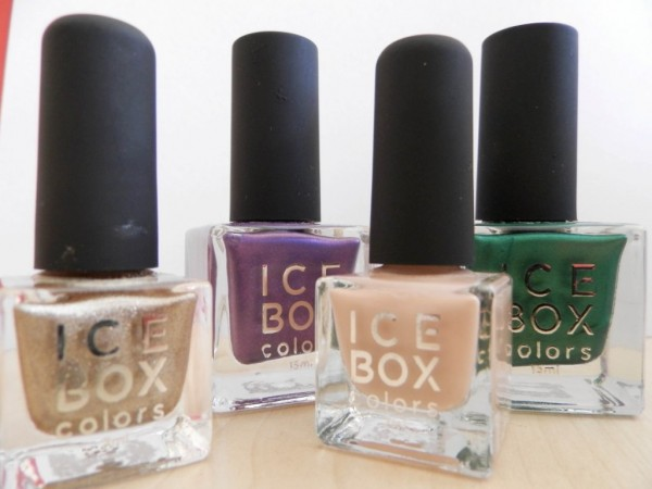 Nail Polish Newness: Ice Box Colors