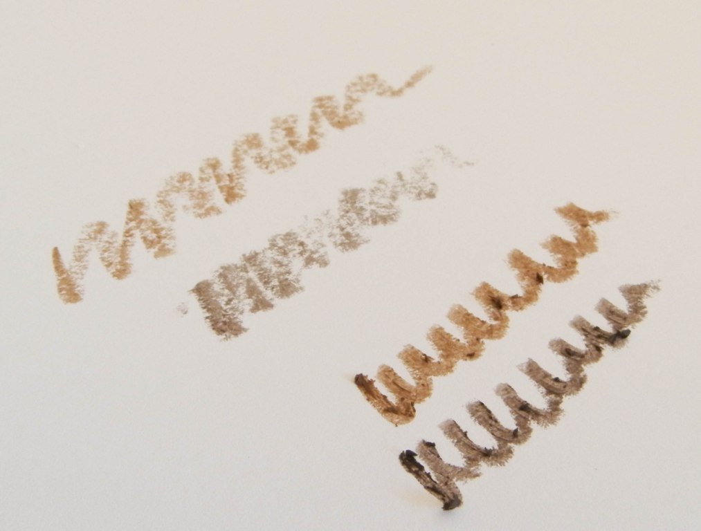 review with swatches maybelline master shape brow pencils not another poppie