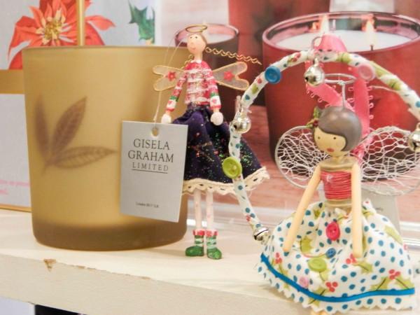 Gisela Graham Fairy and Angel decorations, R220 each