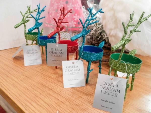 Gisela Graham Reindeer tealight holders, R100 each