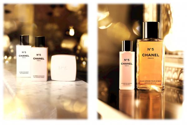 Chanel No 5 Toiletries