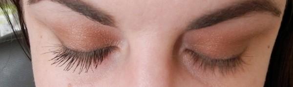 Mavala mascara eyes closed