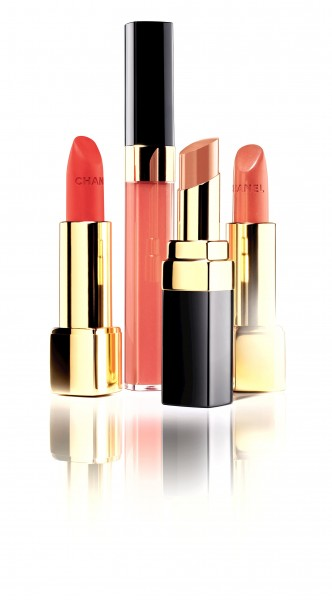 Le Rouge Chanel Collection Variation Nudes