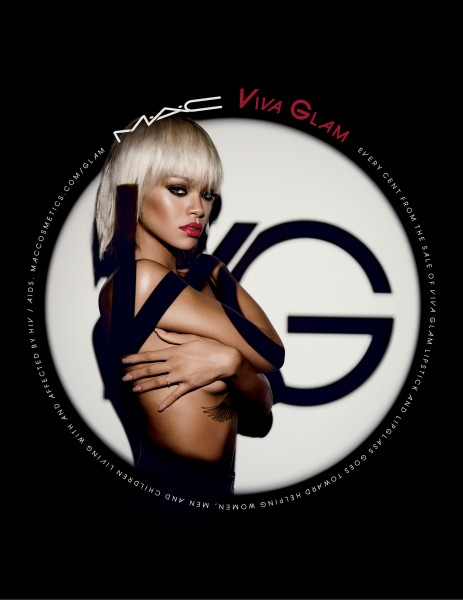 Rihanna for MAC VIVA GLAM