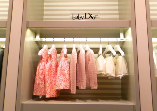 Oh, just some baby Dior