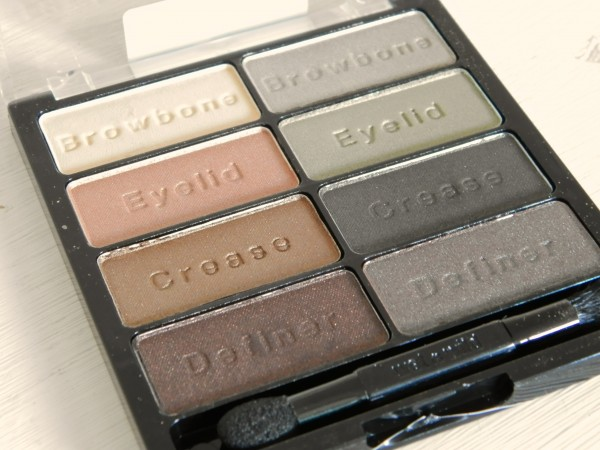 Wet n Wild Color Icon Eyeshadow, Coverall Concealer Palette, Ultimate Brow Kit review