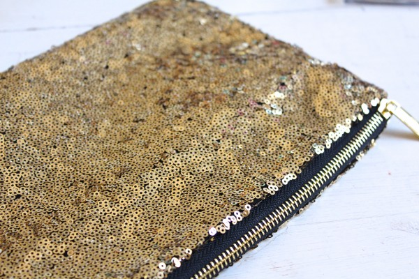 LCN Divas Gold Clutch