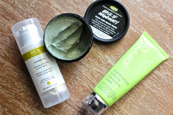 The face masks in my rotation, and how I use them