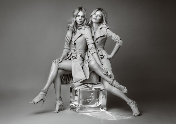 Kate Moss and Cara Delevigne for Burberry Body