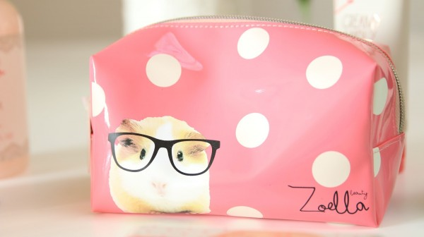 zoella beauty quinea pig bag