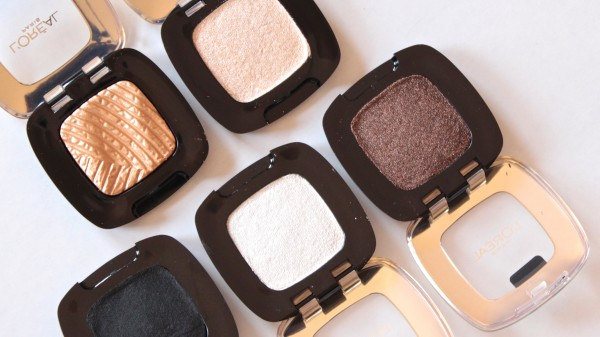 L'Oreal Color Riche L'Ombre Pure single eyeshadows
