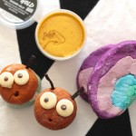 LUSH Easter goods - Pot O' Gold Shower Jelly, Ultraviolet Bubble Bar and Bubblegrub Bubbleroon
