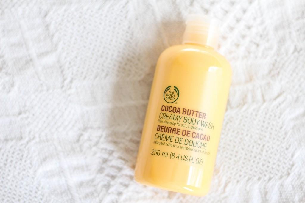 Body Shop Cocoa Butter Creamy Body Wash