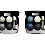 Collection Blue Rhythm de Chanel Eyeshadow Quads
