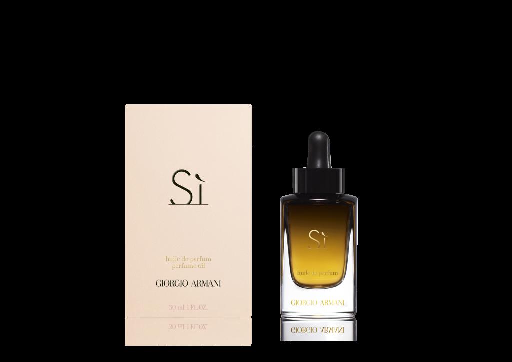 New Armani Sí Huile de Parfum