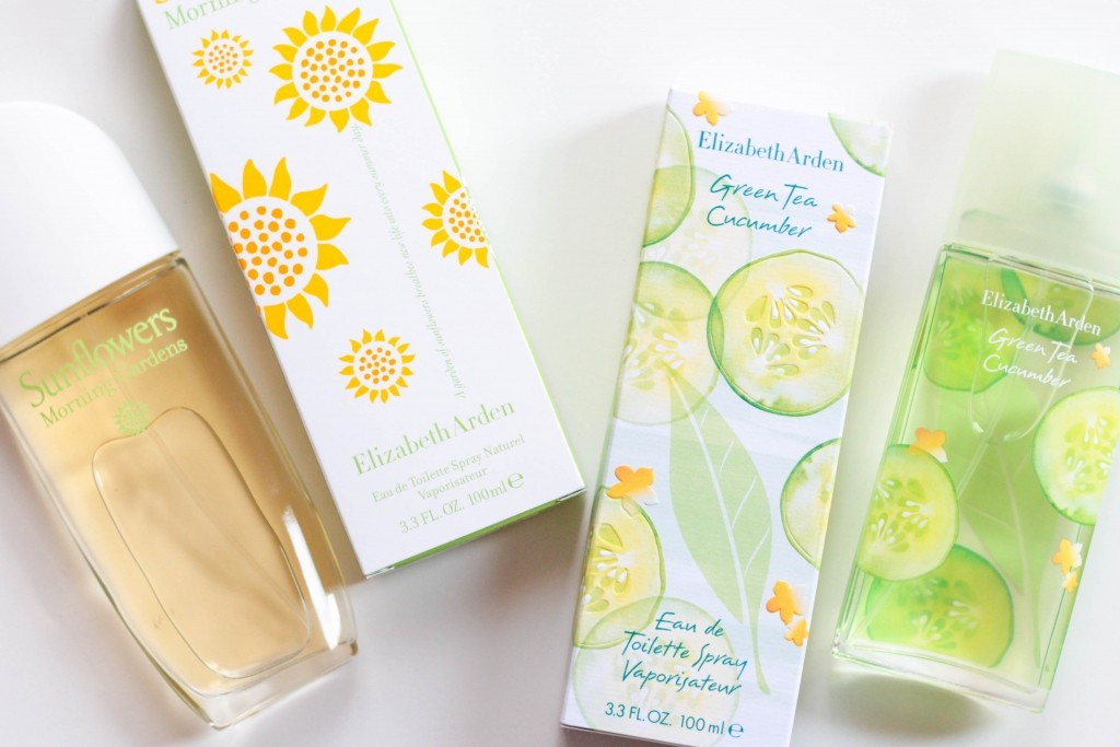 Elizabeth Arden Green Tea Cucumber and Sunflowers Morning Gardens