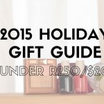 2015 BUDGET HOLIDAY GIFT GUIDE