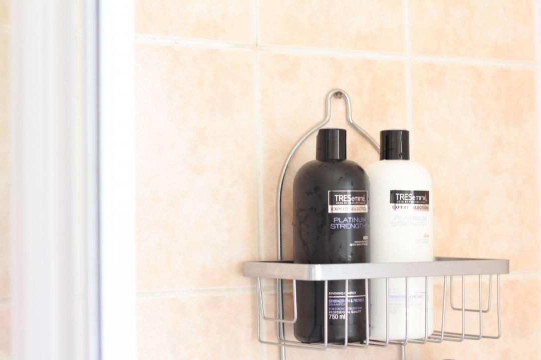 Tresemme Platinum Strength shampoo & conditioner