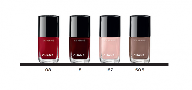reformulated chanel le vernis longue tenue shades
