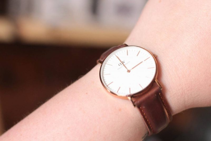 daniel wellington classic durham rose gold