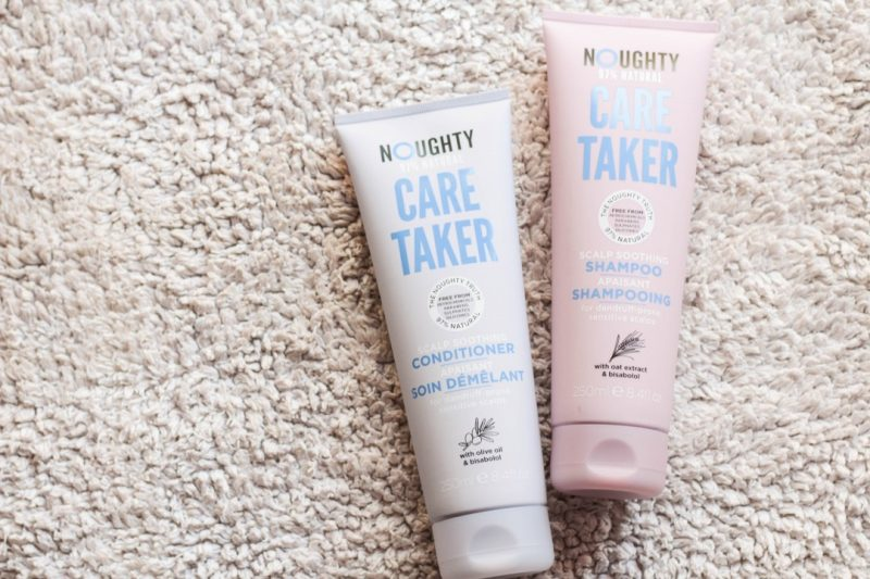 noughty care taker shampoo and conditioner