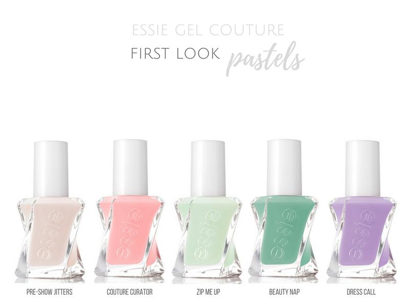 essie gel couture shades first look