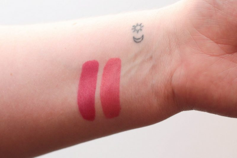 chanel rouge allure ink swatches