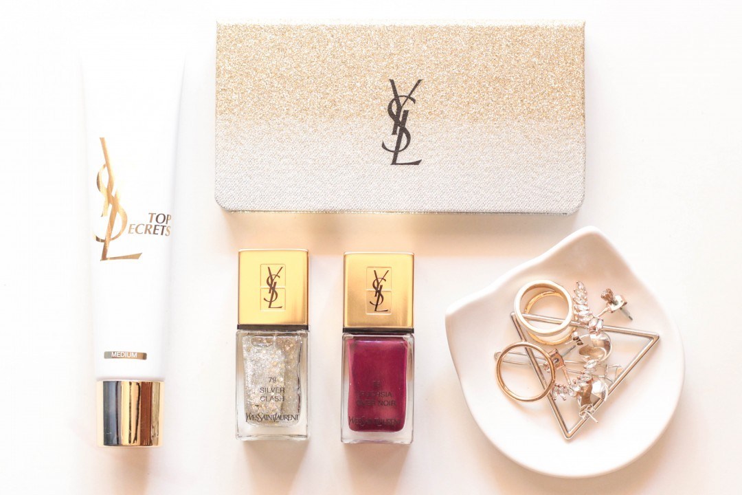 YSL Online Shop + Sparkle Clash Holiday 2016