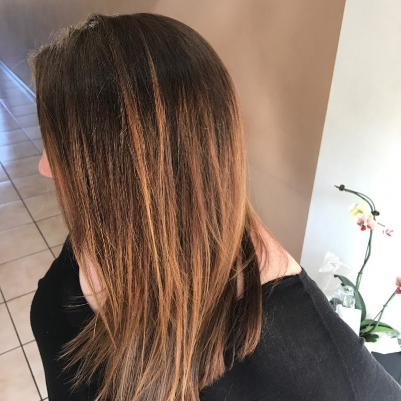 Balayage four months later